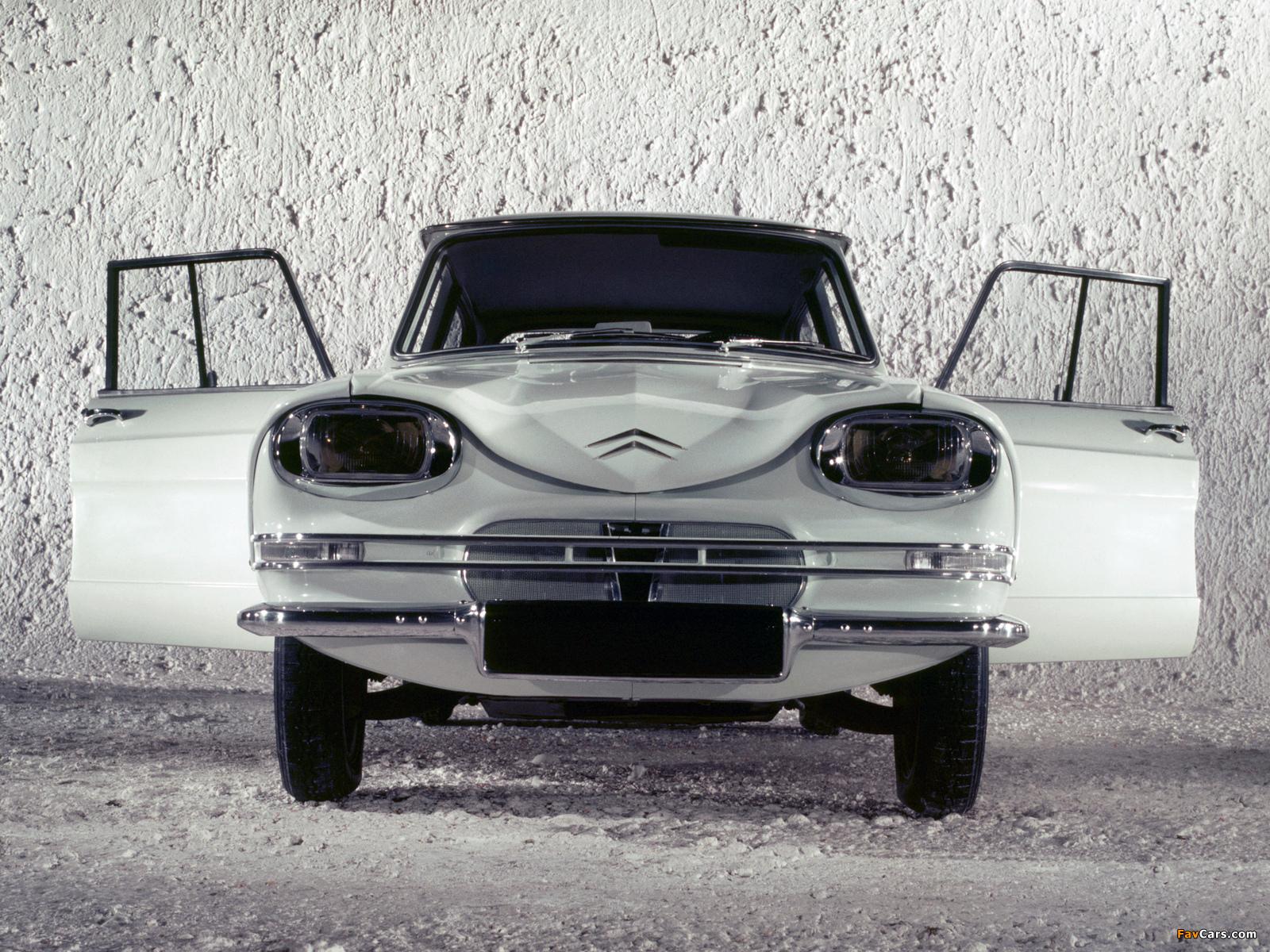 Citroën AMI6 1961–69 wallpapers (1600 x 1200)