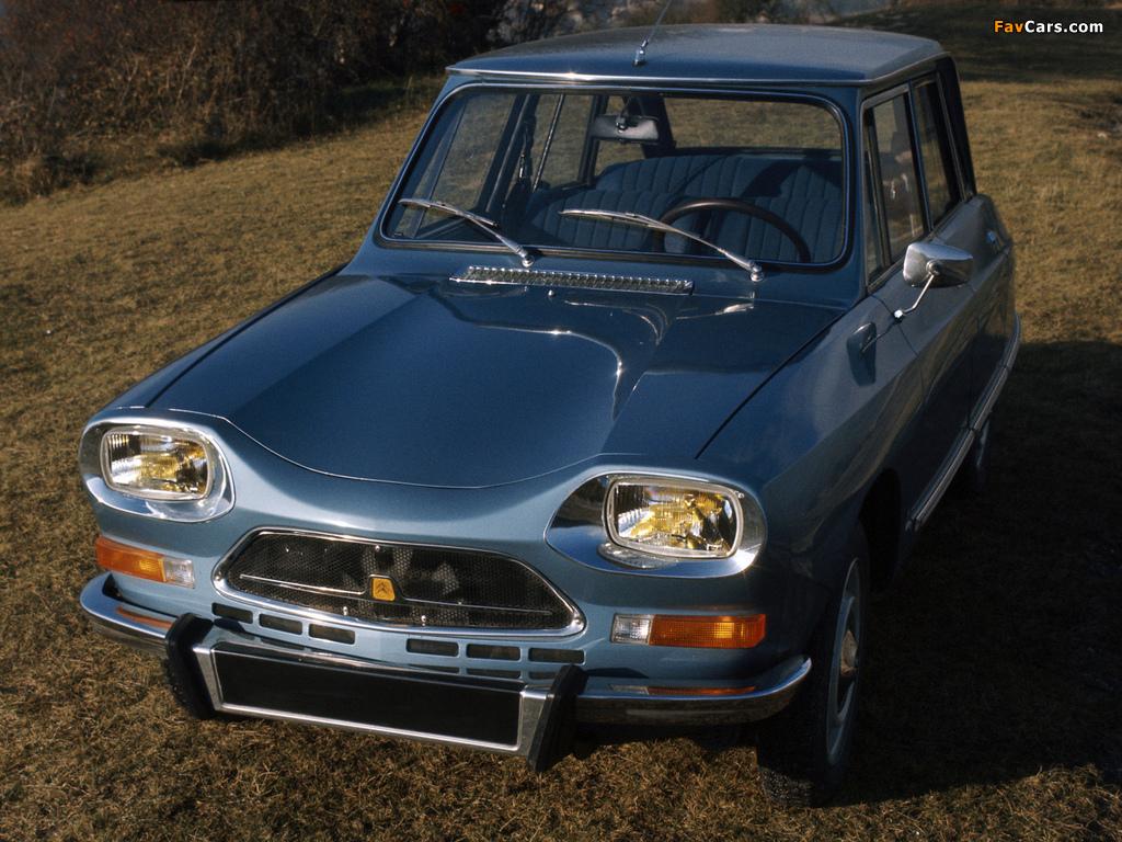 Citroën AMI Super 1973–76 wallpapers (1024 x 768)