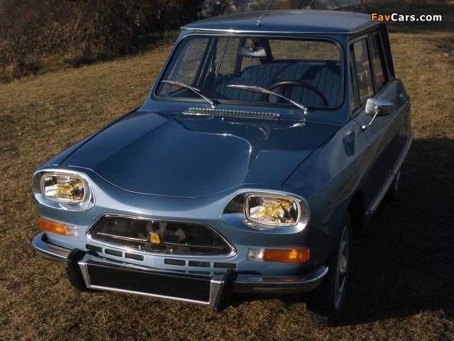 Citroën AMI Super 1973–76 wallpapers (640 x 480)