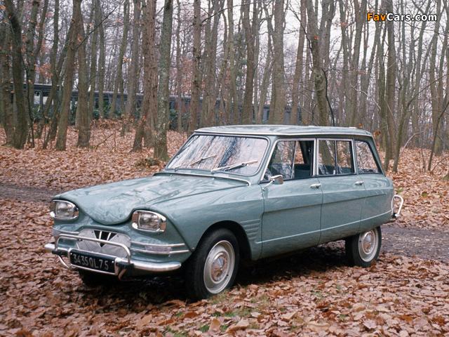 Pictures of Citroen AMI6 Break 1961–69 (640 x 480)
