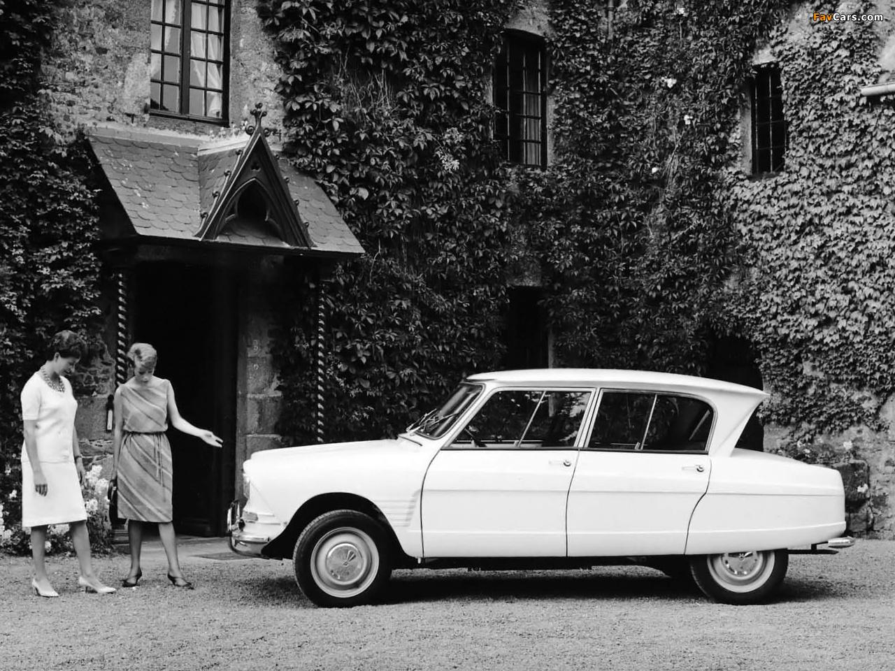 Citroën AMI6 1961–69 wallpapers (1280 x 960)