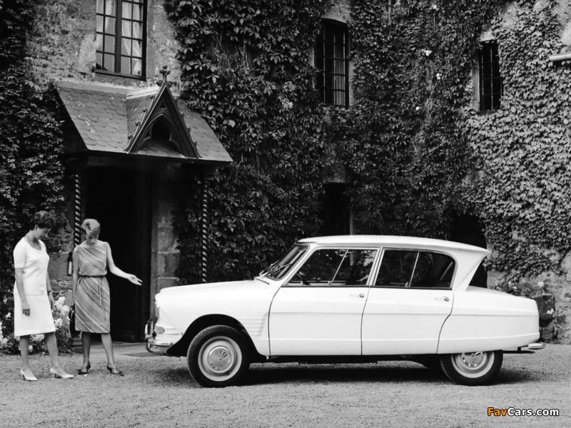 Citroën AMI6 1961–69 wallpapers (800 x 600)
