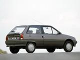 Citroën AX 3-door 1986–91 photos