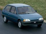 Citroën AX 3-door 1986–91 pictures