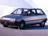 Citroën AX 10 TRE 3-door 1989–91 photos