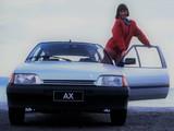Citroën AX 10 TRE 3-door 1989–91 pictures