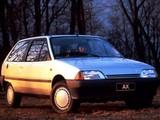 Citroën AX 10 TRE 3-door 1989–91 wallpapers
