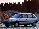 Citroen AX 11 TRE 5-door 1987–89 wallpapers