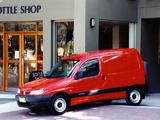 Citroën Berlingo Van AU-spec 1996–2002 images