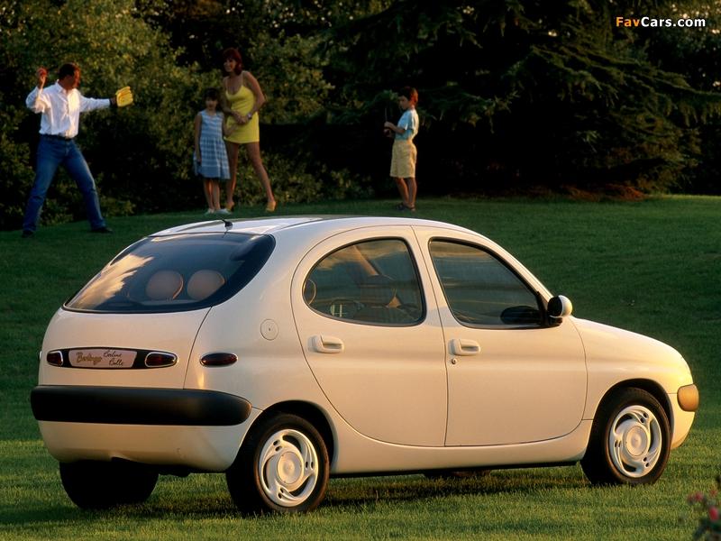 Citroën Berlingo Berline Bulle Concept 1996 images (800 x 600)