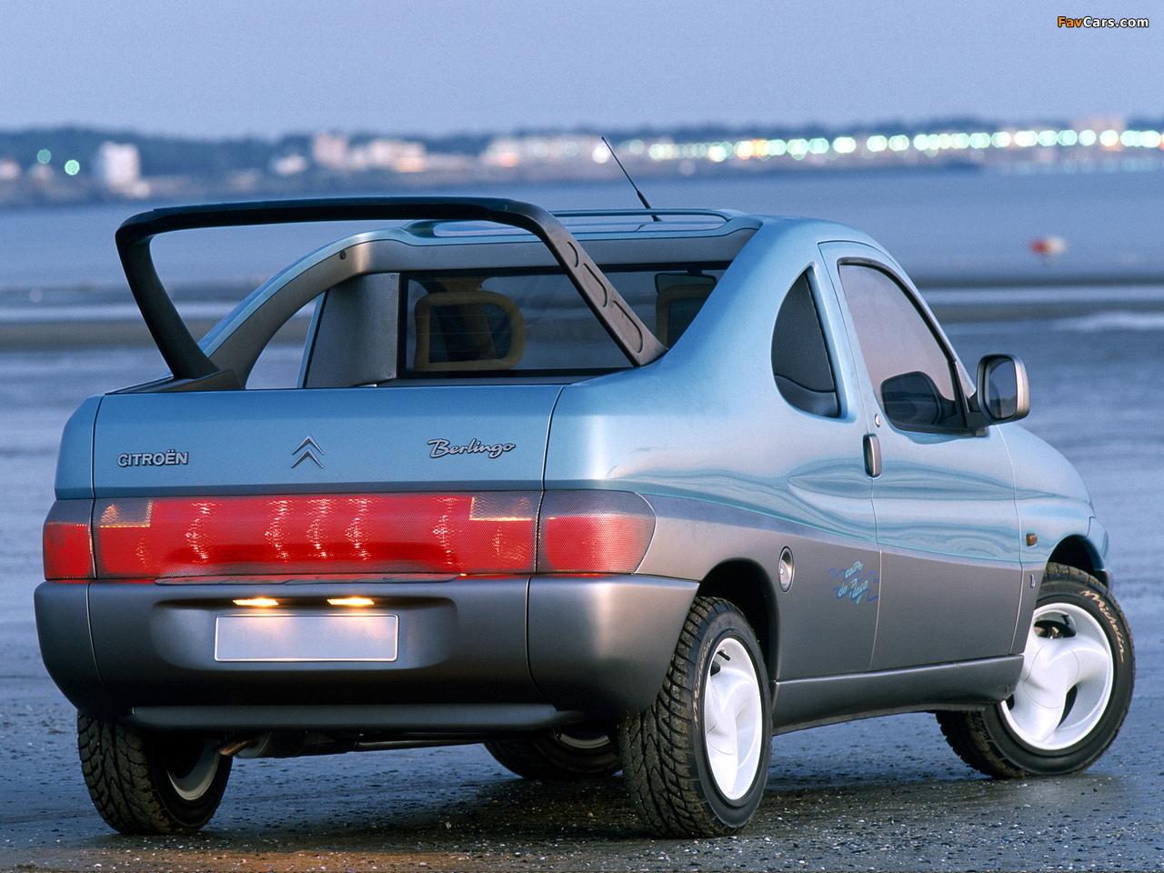 Citroën Berlingo Coupe de Plage Concept 1996 photos (1280 x 960)