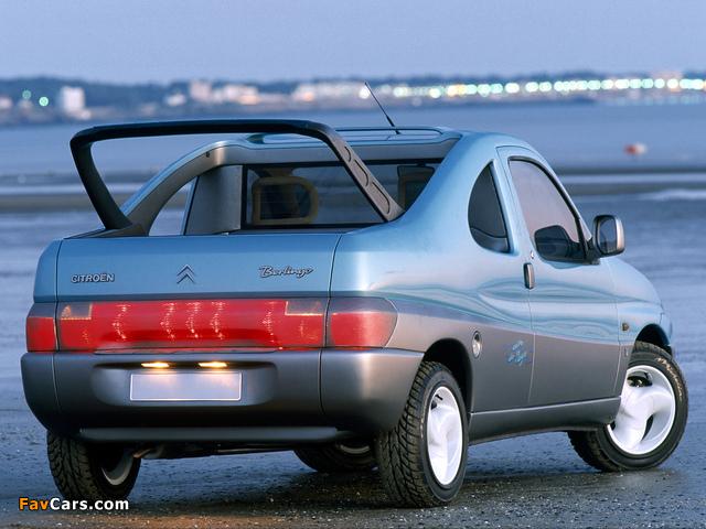 Citroën Berlingo Coupe de Plage Concept 1996 photos (640 x 480)