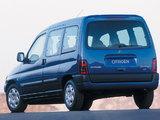 Citroën Berlingo Multispace 1996–2002 photos