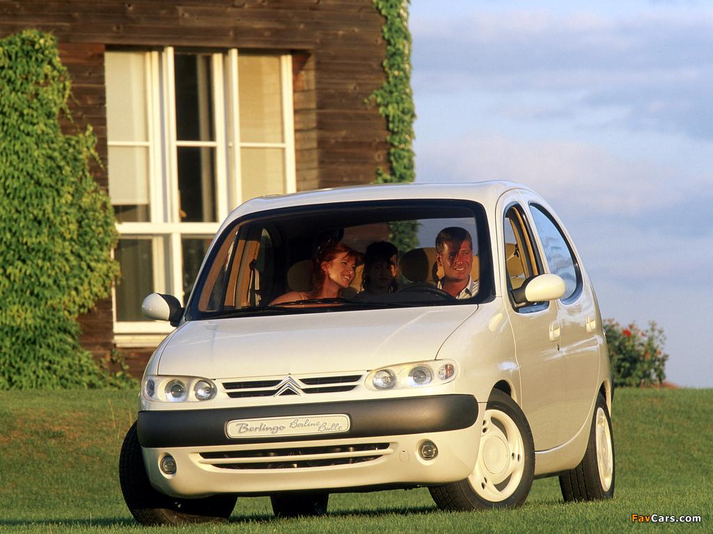 Citroën Berlingo Berline Bulle Concept 1996 pictures (1024 x 768)