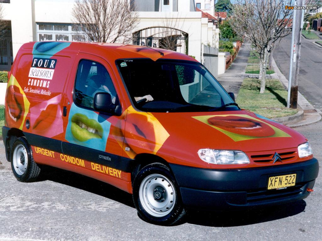 Citroën Berlingo Van AU-spec 1996–2002 wallpapers (1024 x 768)