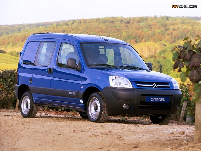 Citroën Berlingo Combi 2002–11 photos (800 x 600)