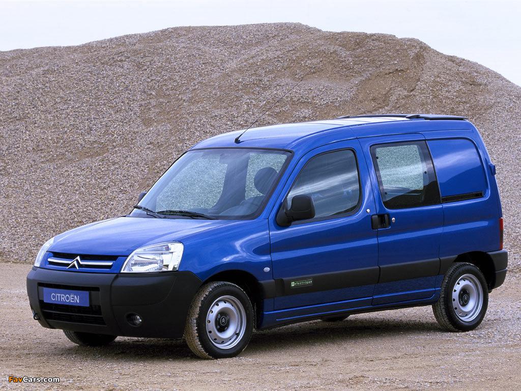 Citroën Berlingo Combi 2002–11 pictures (1024 x 768)