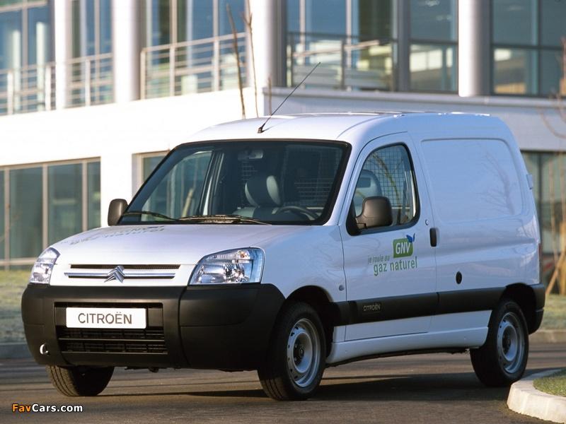 Citroën Berlingo Van GNV 2002–11 pictures (800 x 600)