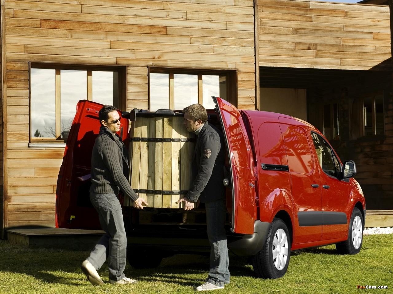 Citroën Berlingo Van 2008–12 images (1280 x 960)