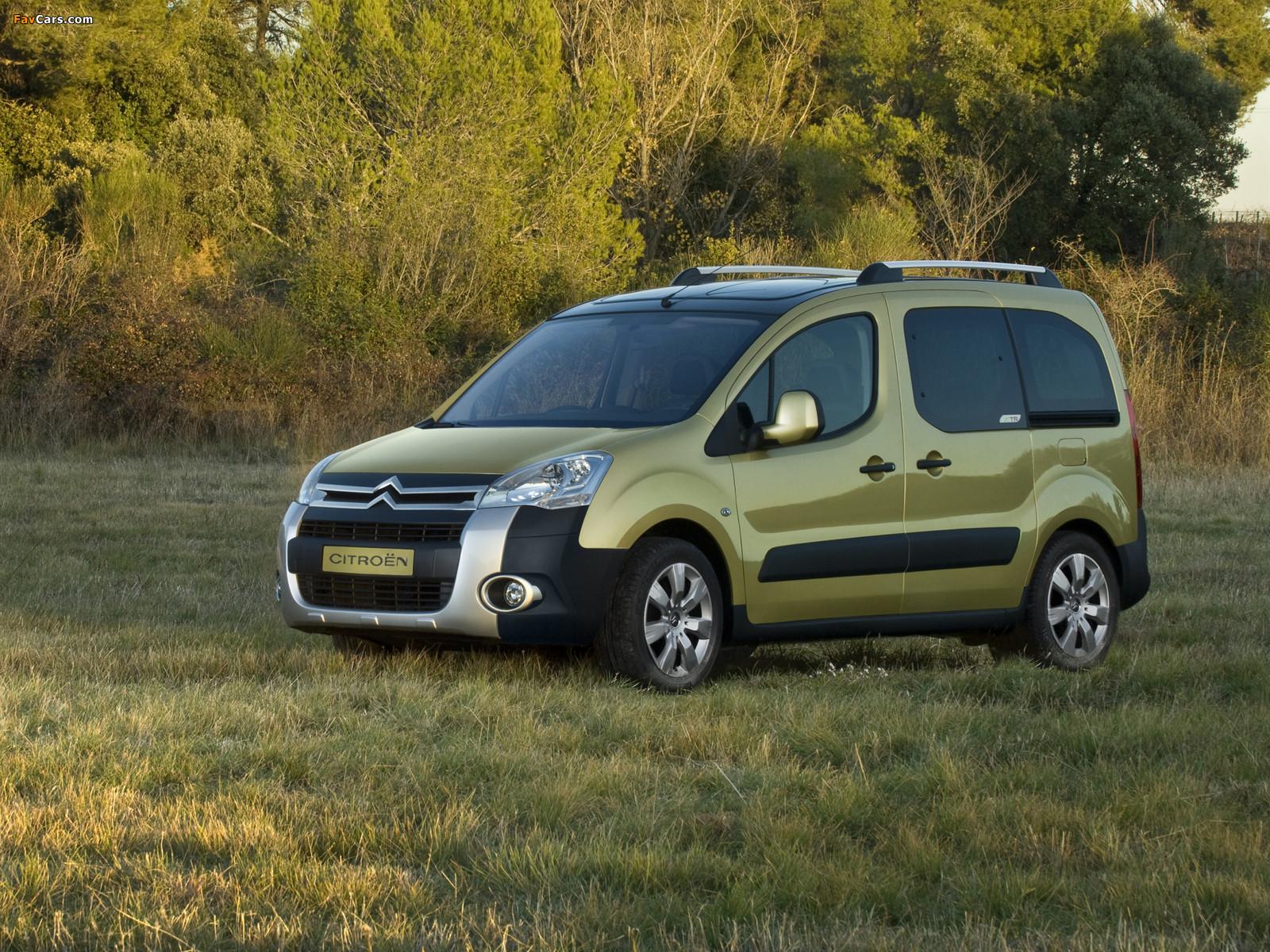 Citroën Berlingo XTR Multispace 2008–12 photos (1600 x 1200)