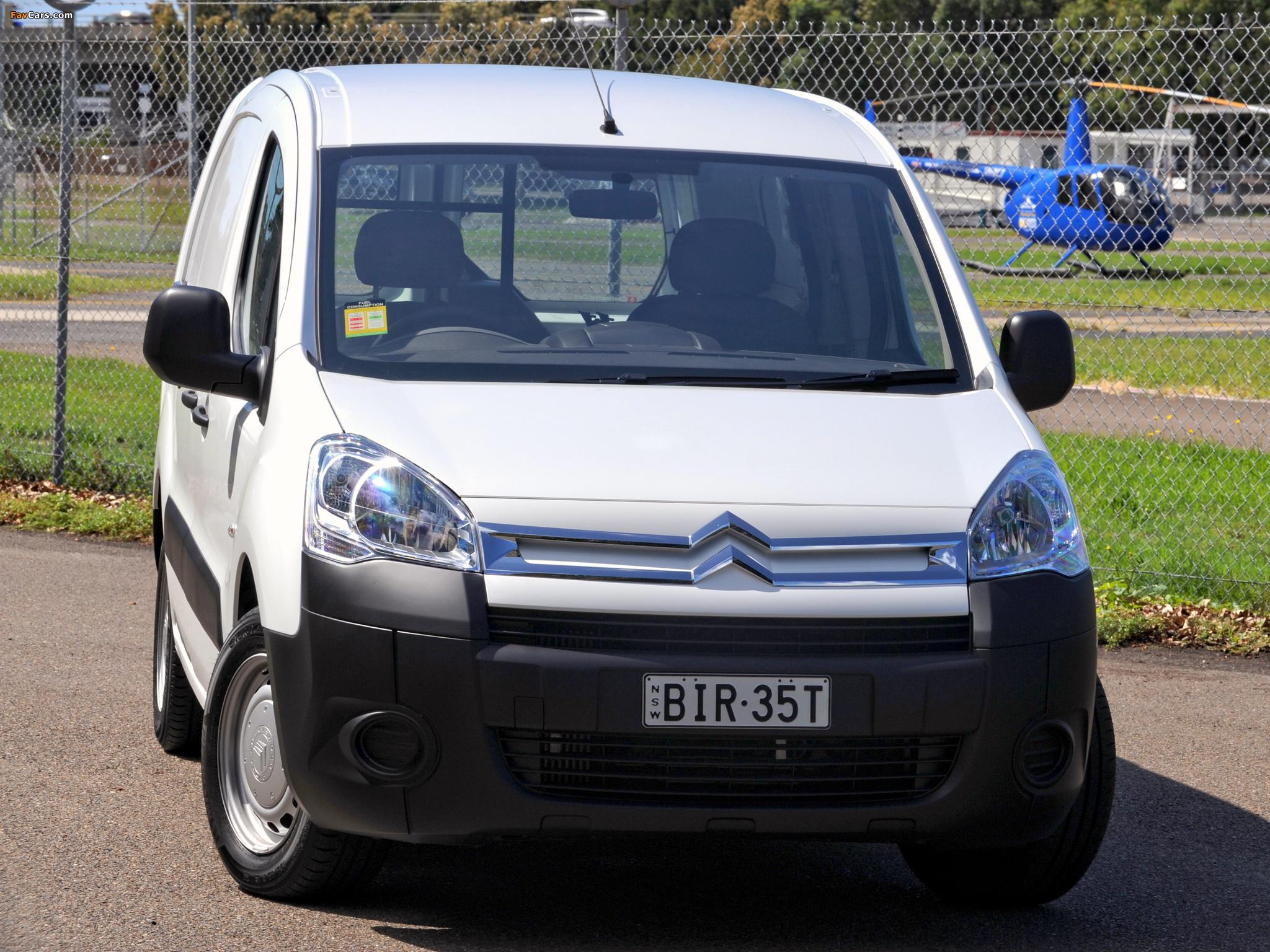 Citroën Berlingo Van Long Limited Edition 2008–12 pictures (2048 x 1536)