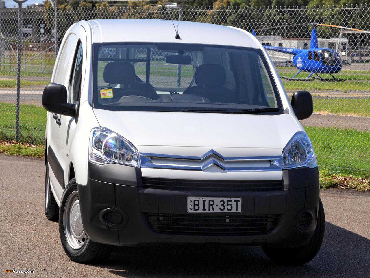 Citroën Berlingo Van Long Limited Edition 2008–12 pictures (1280 x 960)