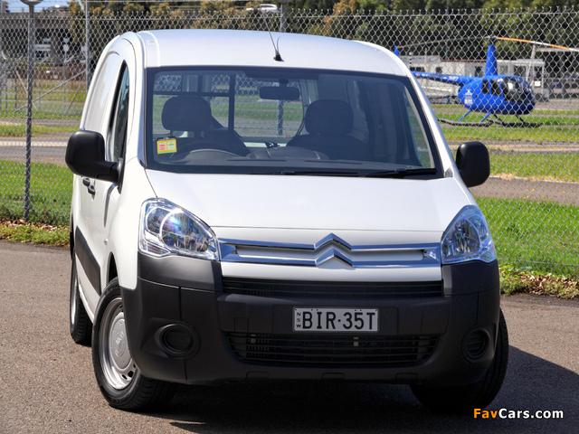 Citroën Berlingo Van Long Limited Edition 2008–12 pictures (640 x 480)