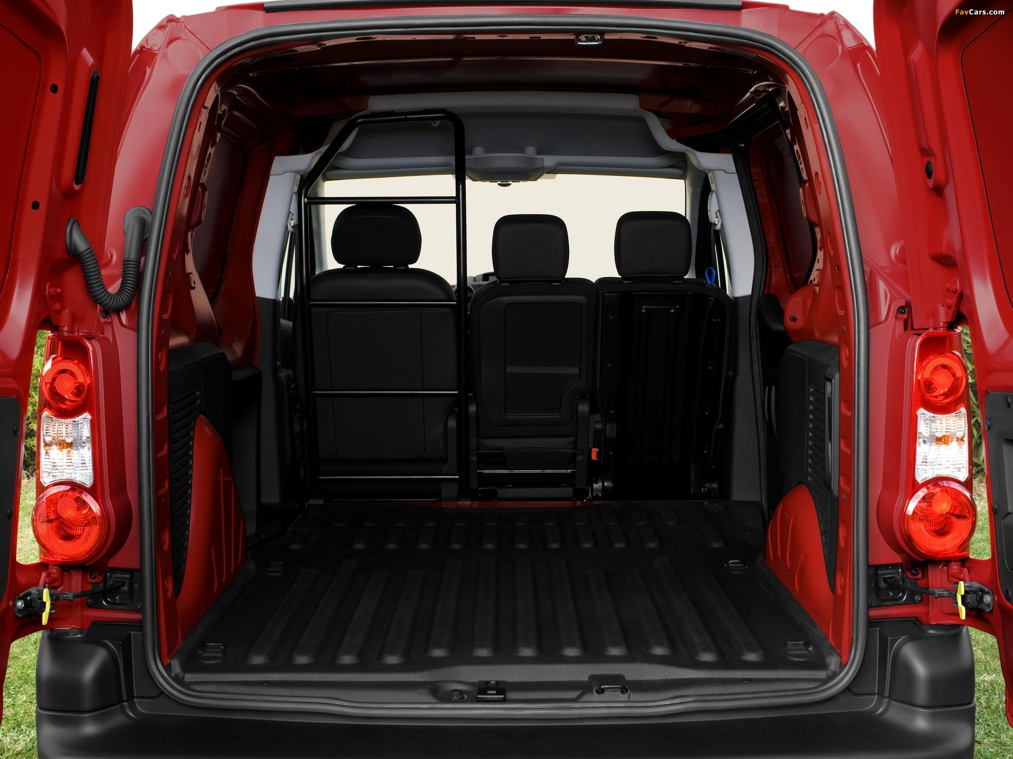 Citroën Berlingo Van 2008–12 pictures (2048 x 1536)