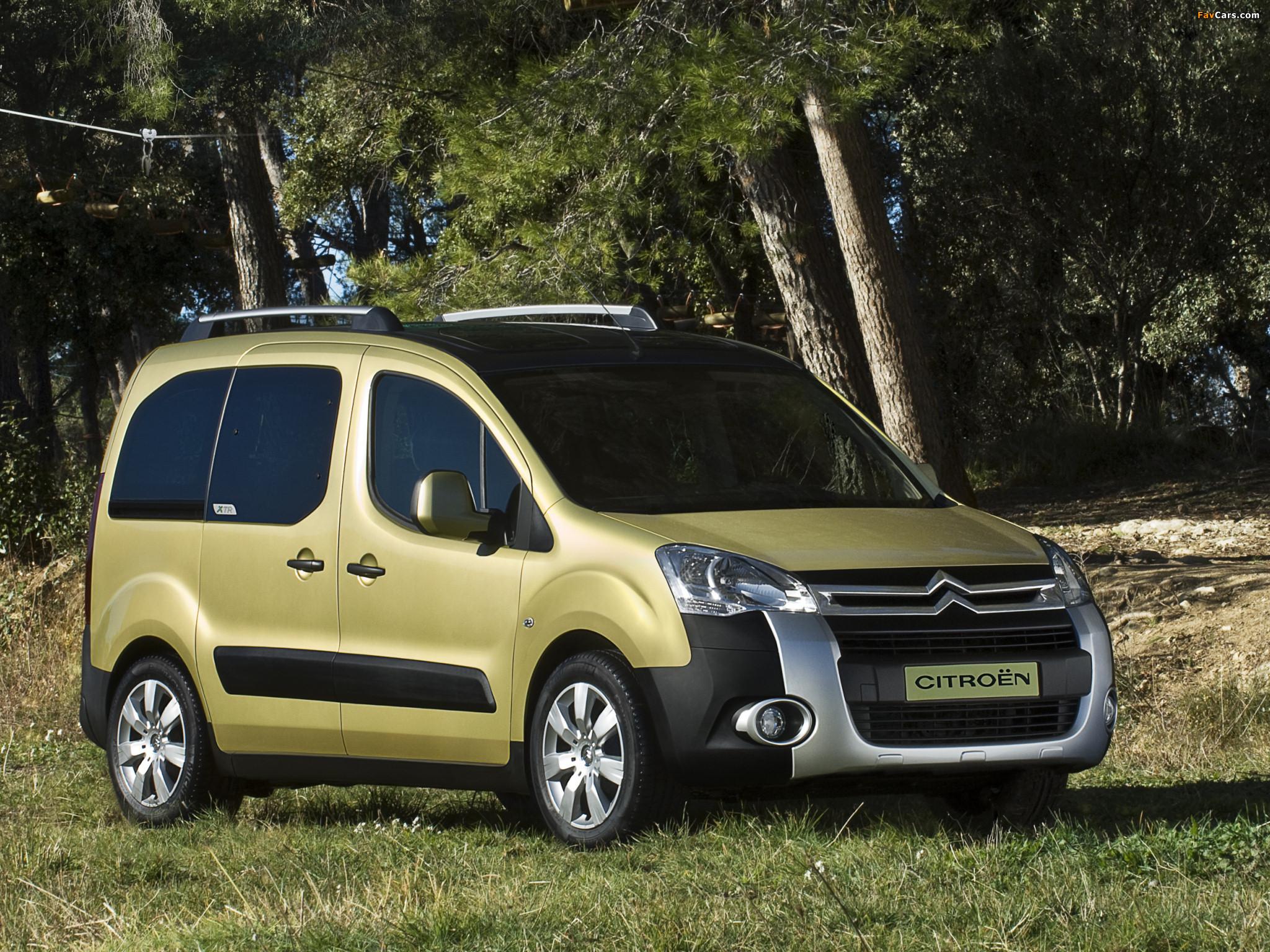 Citroën Berlingo XTR Multispace 2008–12 wallpapers (2048 x 1536)