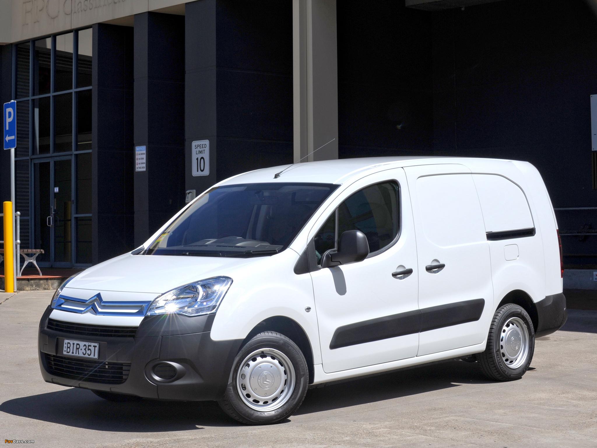 Citroën Berlingo Van Long Limited Edition 2008–12 wallpapers (2048 x 1536)