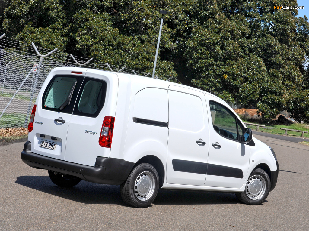 Citroën Berlingo Van Long Limited Edition 2008–12 wallpapers (1024 x 768)