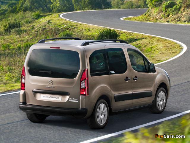 Citroën Berlingo XTR Multispace 2012 wallpapers (640 x 480)