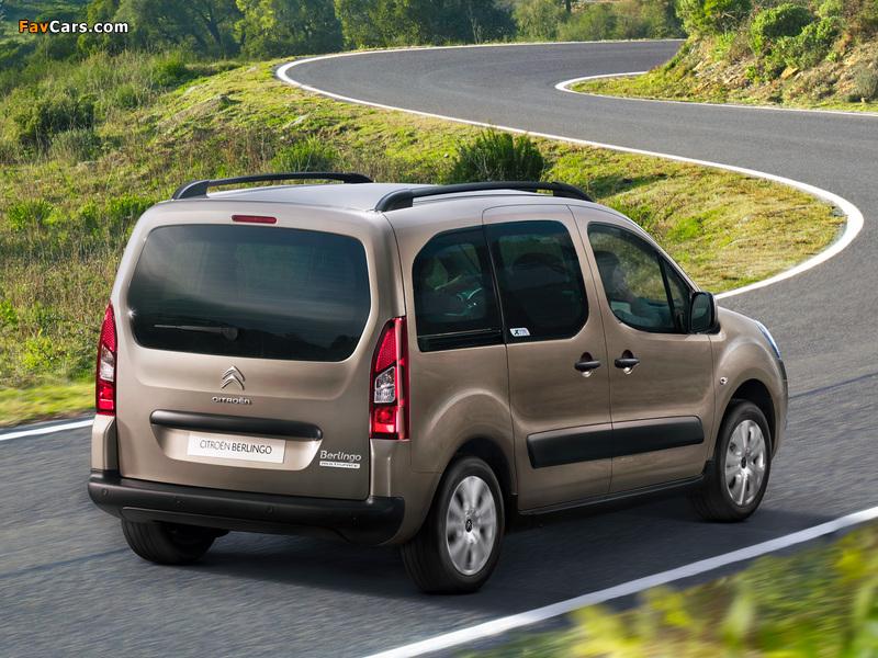 Citroën Berlingo XTR Multispace 2012 wallpapers (800 x 600)