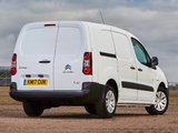 Citroën Berlingo Van L2 Full Electric UK-spec 2017 images