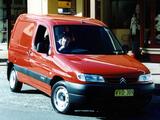 Images of Citroën Berlingo Van AU-spec 1996–2002