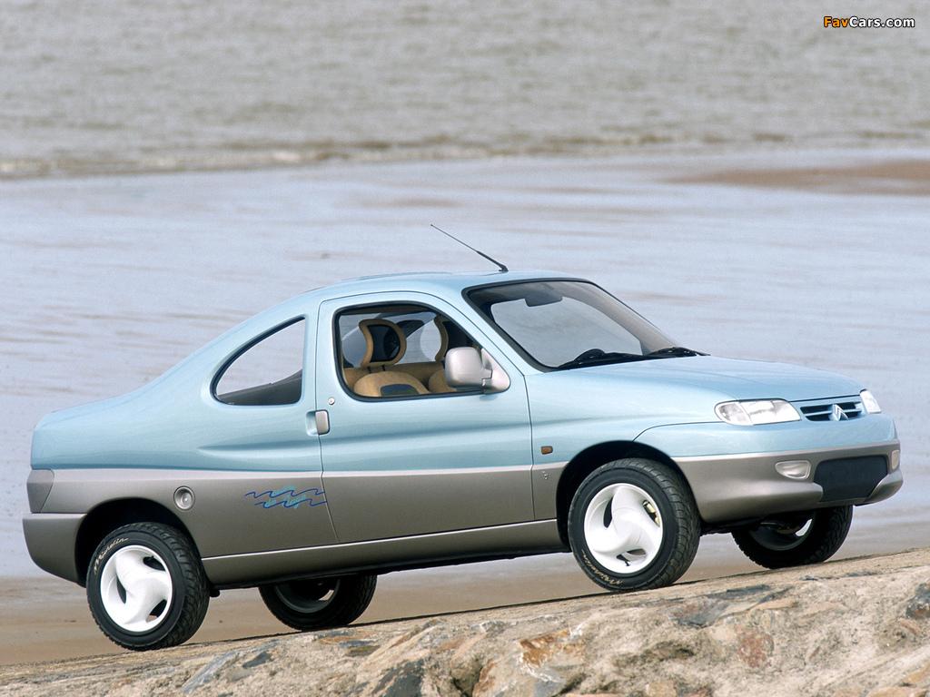 Images of Citroën Berlingo Coupe de Plage Concept 1996 (1024 x 768)
