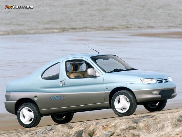 Images of Citroën Berlingo Coupe de Plage Concept 1996 (640 x 480)