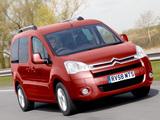 Images of Citroën Berlingo Multispace UK-spec 2008–12