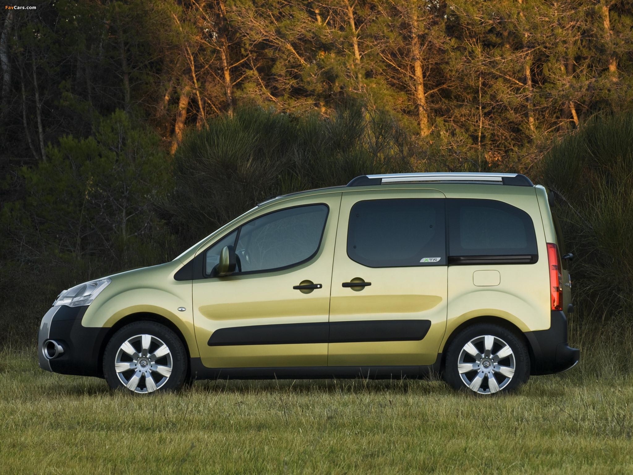 Images of Citroën Berlingo XTR Multispace 2008–12 (2048 x 1536)