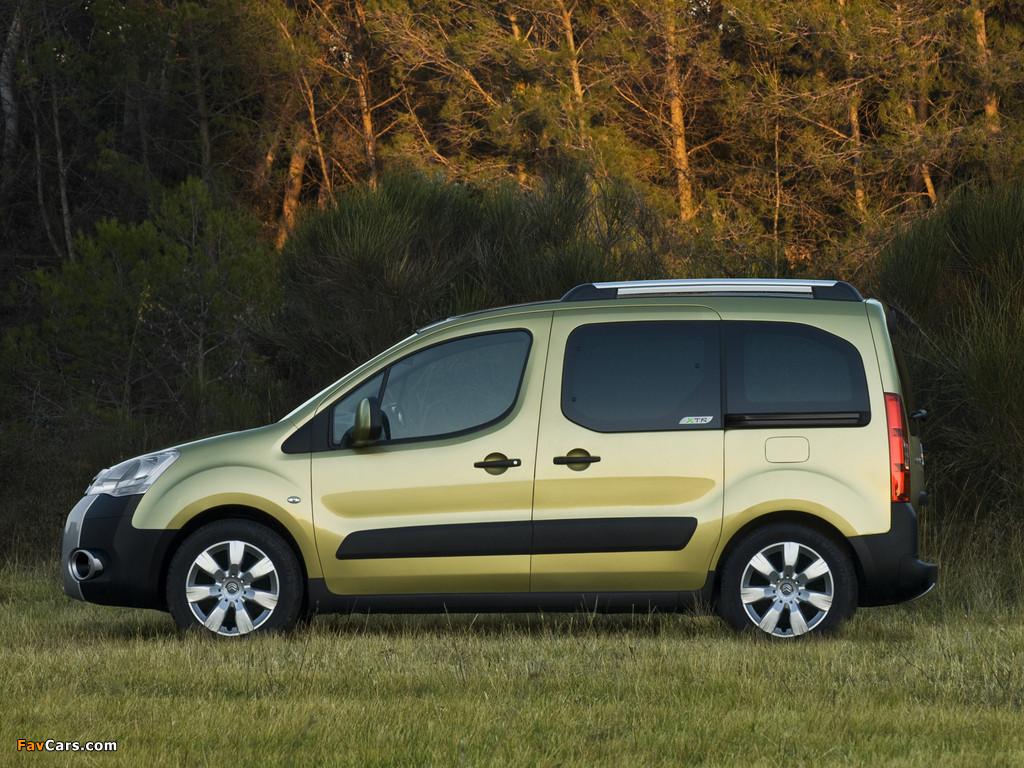 Images of Citroën Berlingo XTR Multispace 2008–12 (1024 x 768)