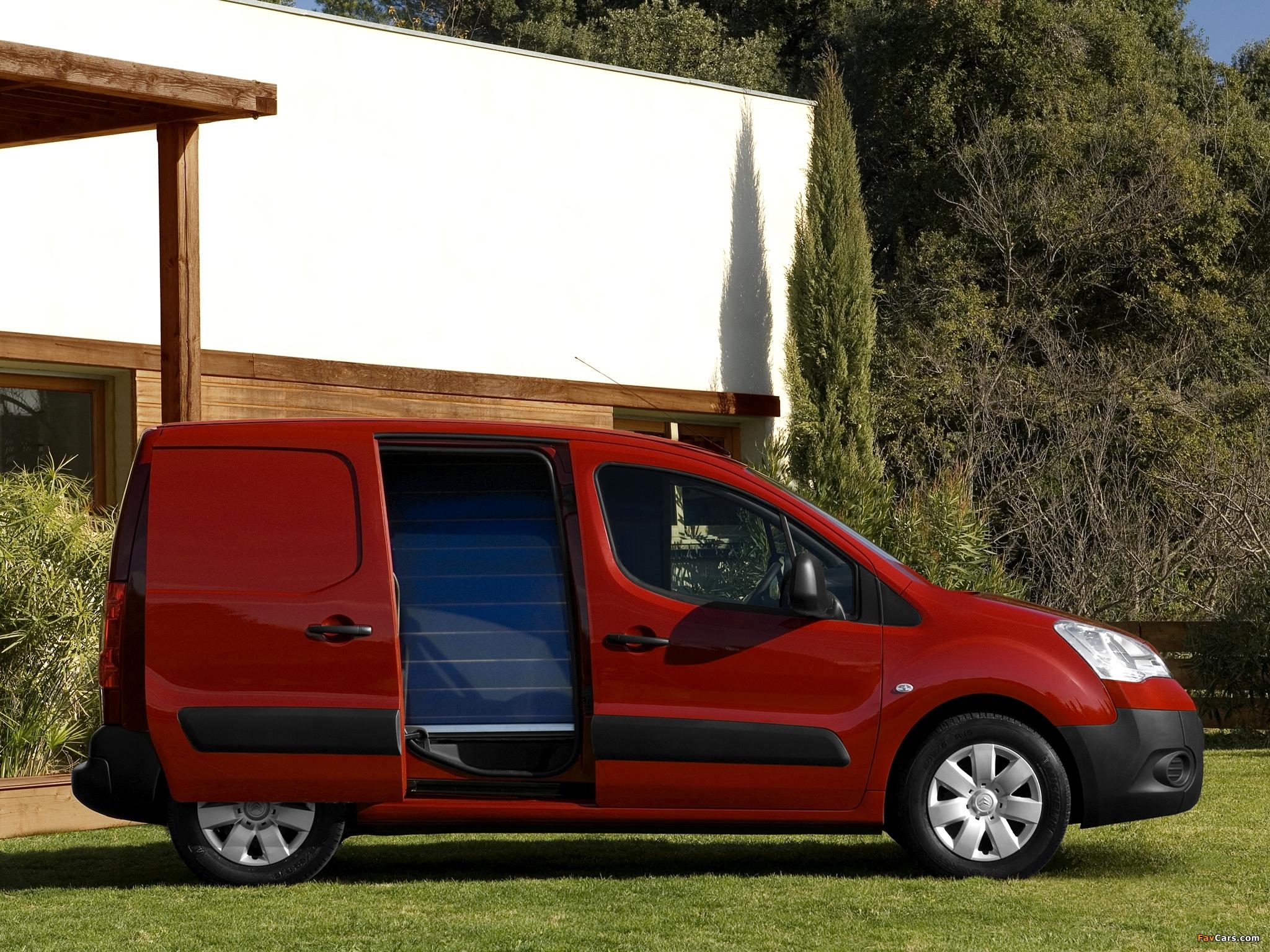Images of Citroën Berlingo Van 2008–12 (2048 x 1536)