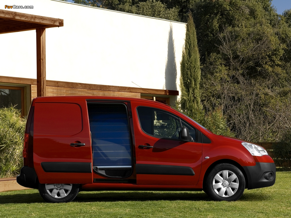 Images of Citroën Berlingo Van 2008–12 (1024 x 768)