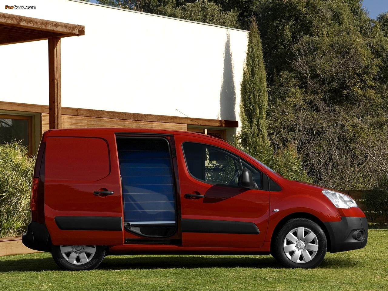 Images of Citroën Berlingo Van 2008–12 (1280 x 960)