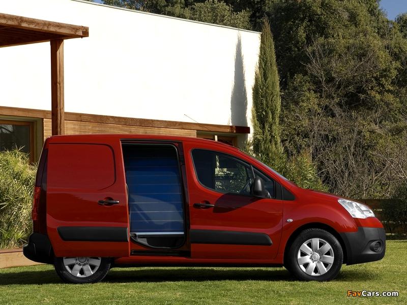 Images of Citroën Berlingo Van 2008–12 (800 x 600)