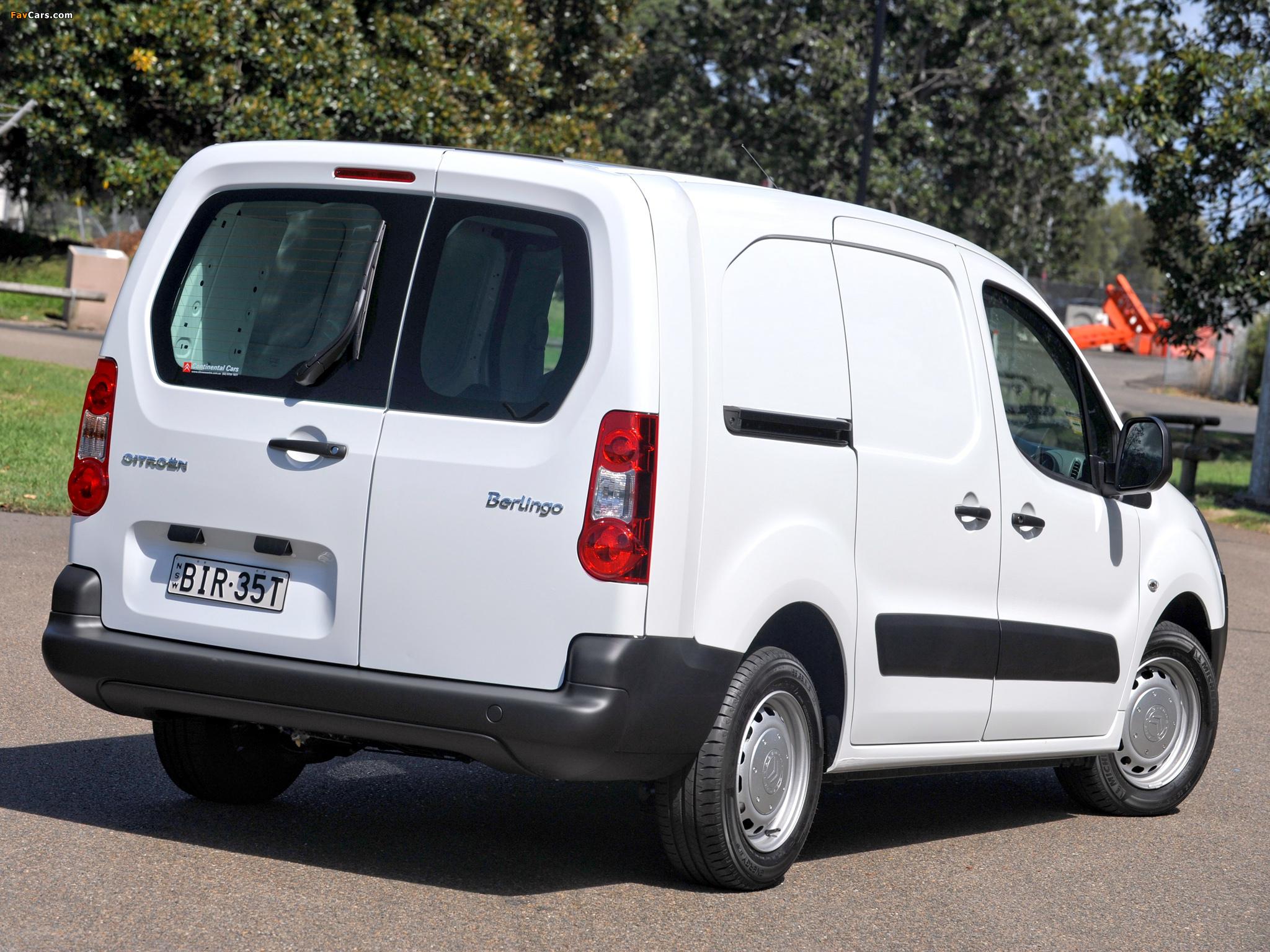 Images of Citroën Berlingo Van Long Limited Edition 2008–12 (2048 x 1536)