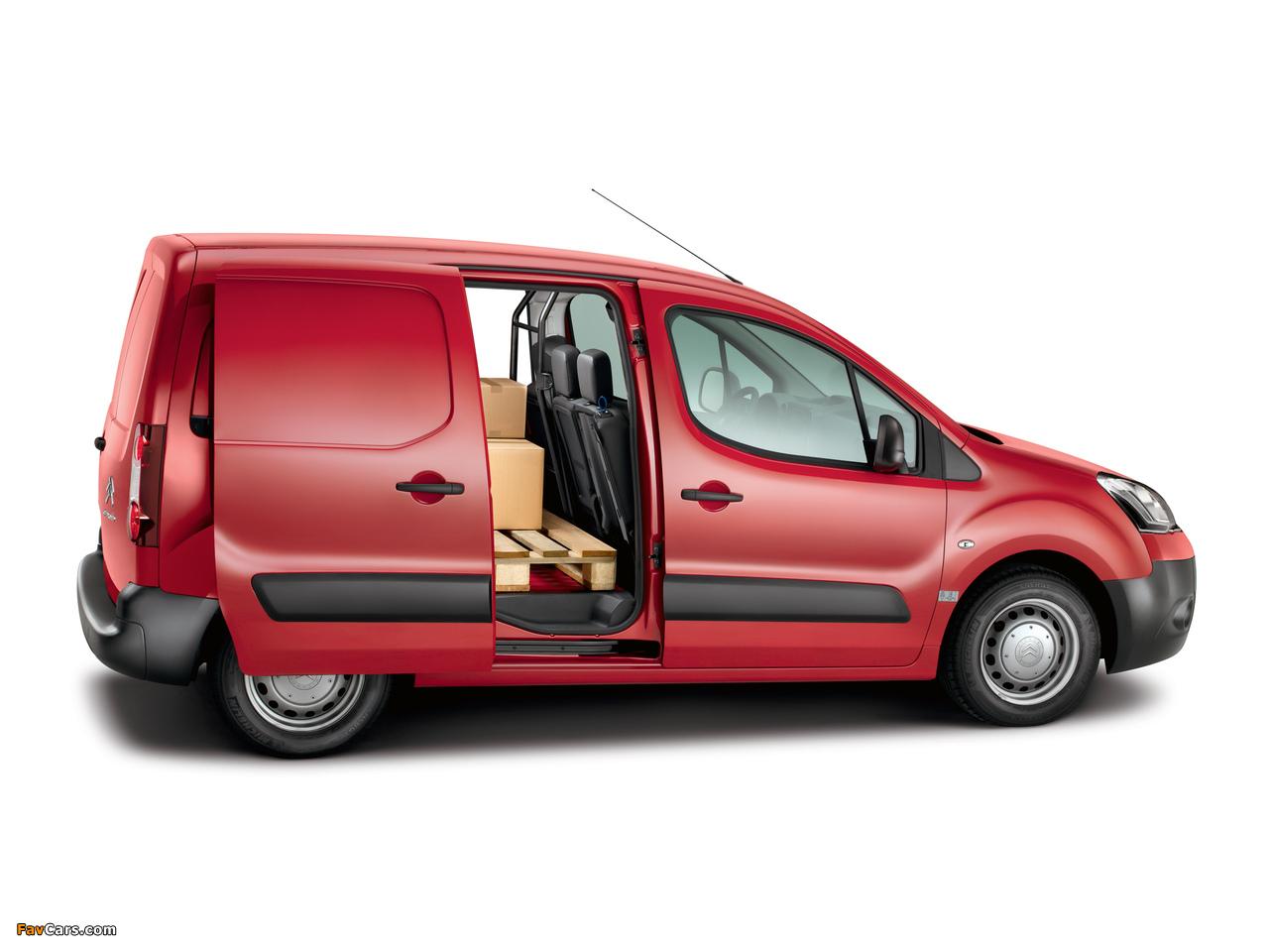 Images of Citroën Berlingo Van 2012 (1280 x 960)