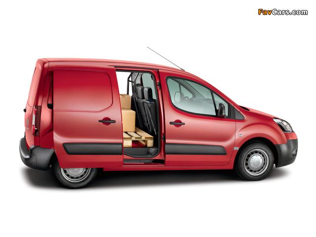 Images of Citroën Berlingo Van 2012 (640 x 480)