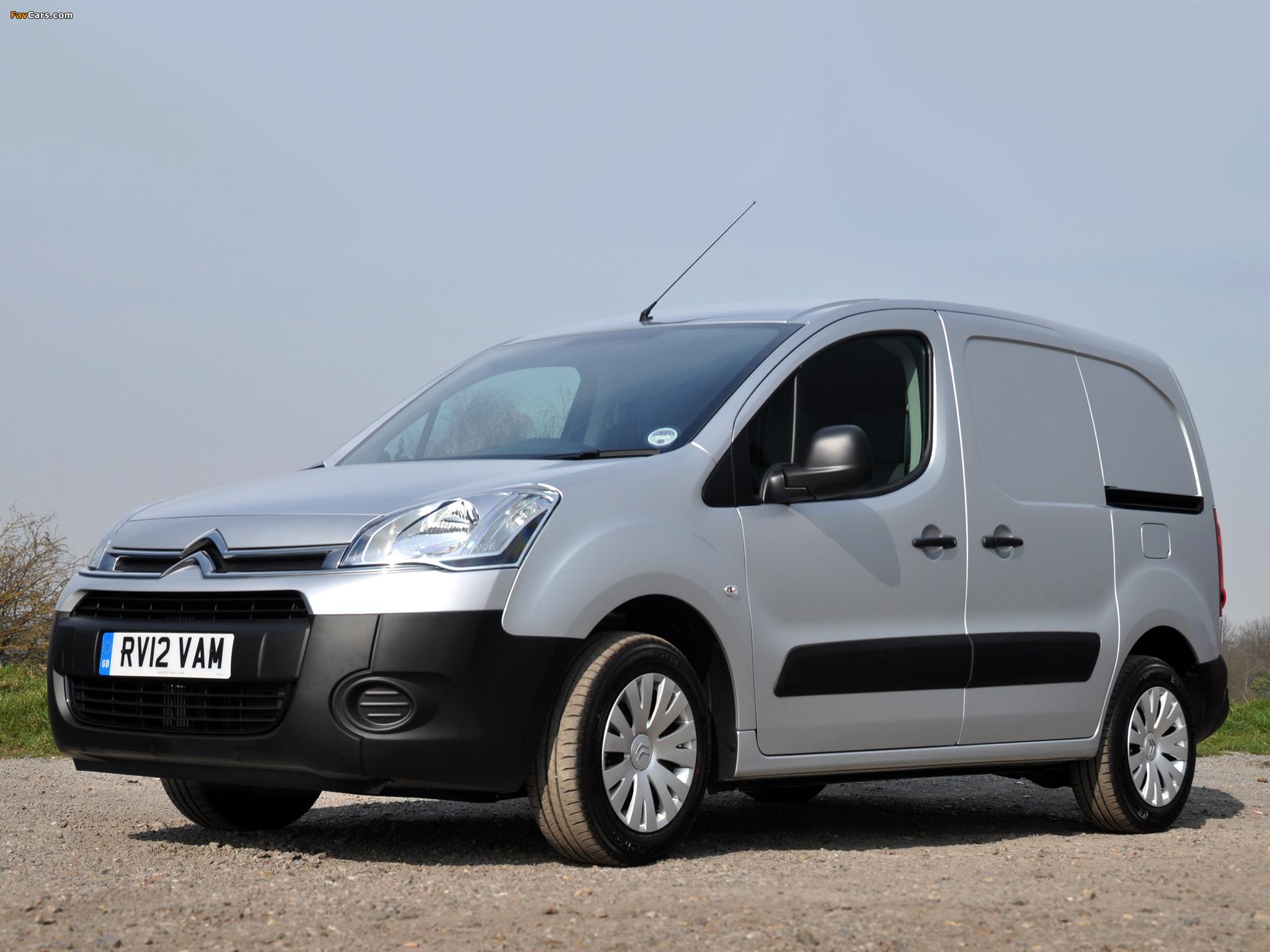Images of Citroën Berlingo Van UK-spec 2012 (2048 x 1536)