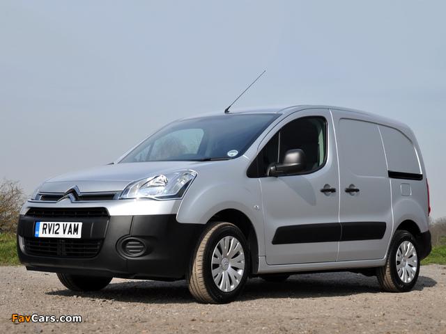 Images of Citroën Berlingo Van UK-spec 2012 (640 x 480)