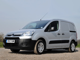 Images of Citroën Berlingo Van UK-spec 2012